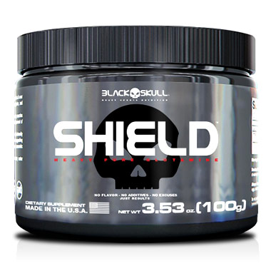 Shield Glutamina 100g Black Skull