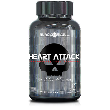 Heart Attack 60 cápsulas Black Skull