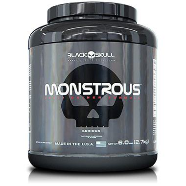 Monstrous 2,7kg Black Skull