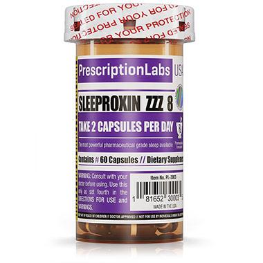 Relaxproxin ZZZ 8 60 cápsulas PrescriptionLabs USA