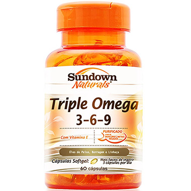 Triple Omega 60 cápsulas Sundown