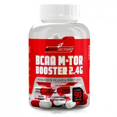 BCAA M-Tor Booster 90 cápsular Body Action