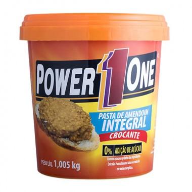Pasta de Amendoim Crocante 1kg Power 1 One