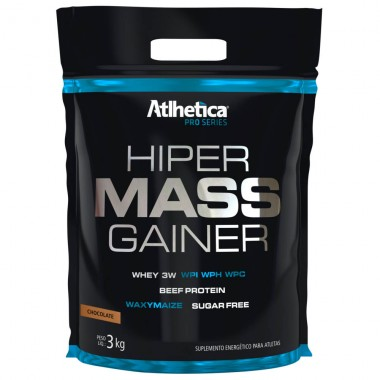 Hiper Mass Gainers 3kg Atlhetica Nutrition