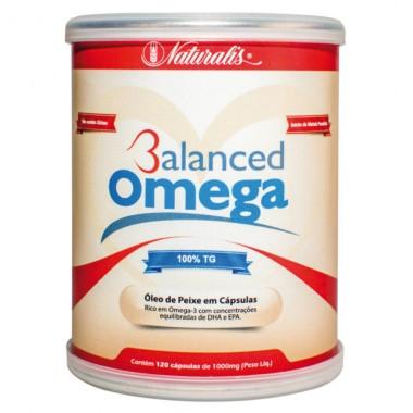 Balanced Omega 120 Cápsulas Naturalis