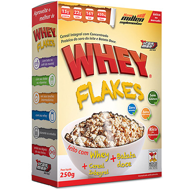 Whey Flakes 250g New Millen