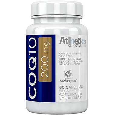 CoQ10 200mg 60 cápsulas Atlhetica Clinical Series