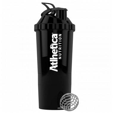 Coqueteleira (shaker) Blender 3 Doses Black 600ml Atlhetica Nutrition