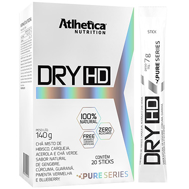 Dry-HD Pure Series 20 sticks Atlhetica Nutrition
