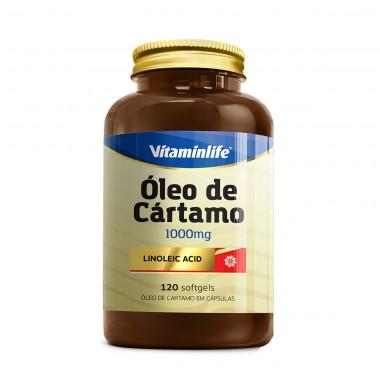 Óleo de Cártamo 1000mg 120 softgels Vitamin Life