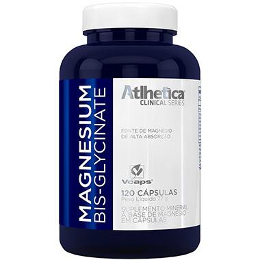 Magnesium Bis-Glycinate 120 cápsulas Atlhetica Nutrition