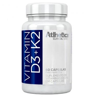 Vitamin D3+K2 60 Cápsulas Atlhetica Clinical Series