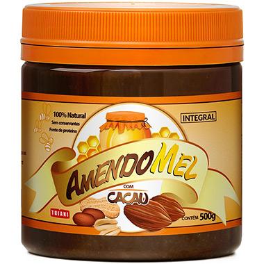 Pasta de Amendoim com Mel e Cacau 500g Grain Power