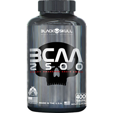 BCAA 2500 400 Tabletes Black Skull