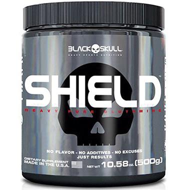 Glutamina Shield 500g Black Skull