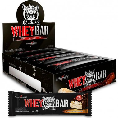 Whey Bar Darkness 90g (8 barras) Integralmédica