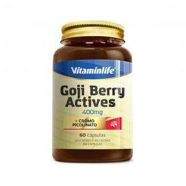 Goji Berry Actives 60 Cápsulas VitaminLife