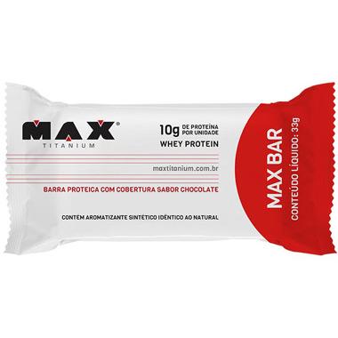 Barra Max Bar 33g Max Titanium