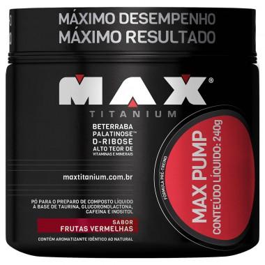Max Pump 240g Max Titanium