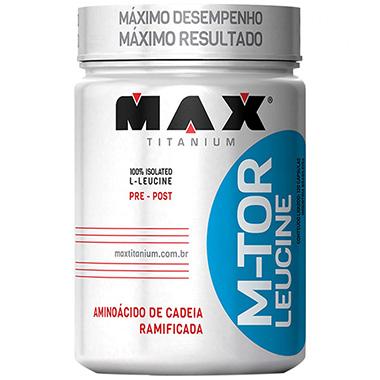 M-Tor Leucine 120 Cápsulas Max Titanium