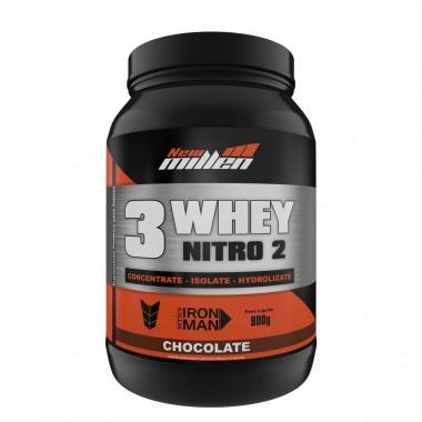 Whey 3W NitrO2 900g New Millen