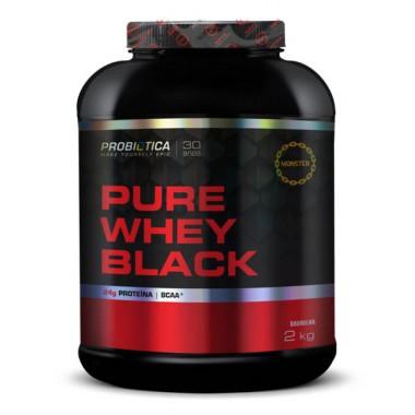 Pure Whey Black 2kg Probiótica