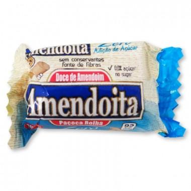 Paçoca Zero Açúcar 18g Amendoita