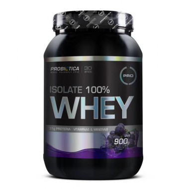 Isolate 100% Whey 900g Probiótica