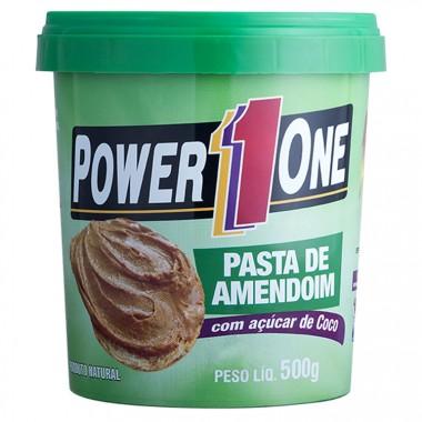 Pasta de Amendoim com Açúcar de Coco 500g Power 1 One