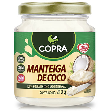 Manteiga De Coco 210g Copra