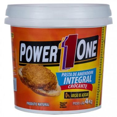 Pasta de Amendoim Crocante 4kg Power One