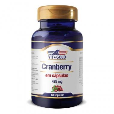 Cramberry 550mg 60 Cápsulas Vit Gold