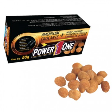 Amendoim Proteico 50g Power One