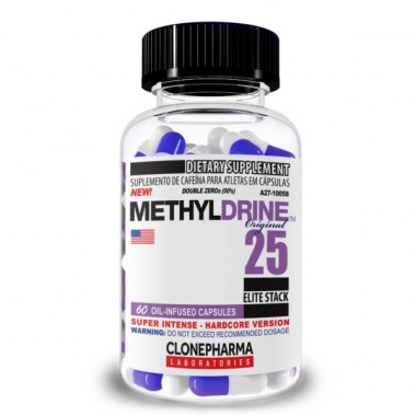 Methyldrine 25 Elite Stack 60 Cápsulas Clone Pharma