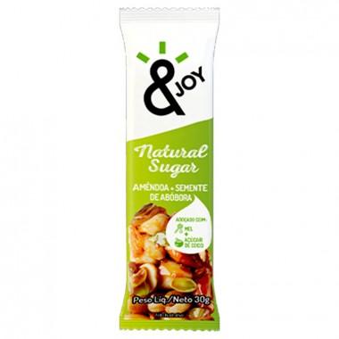 Barra &Joy Natural Sugar 30g Agtal