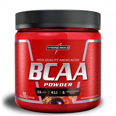 BCAA 4:1:1 Powder 200g Integralmédica