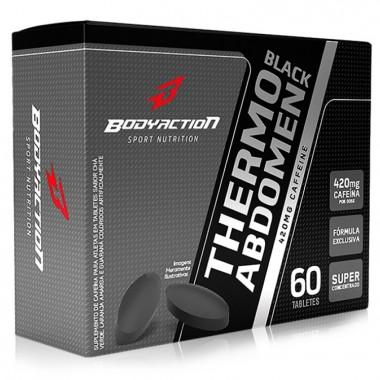 Thermo Abdomen Black 60 Tabletes Body Action