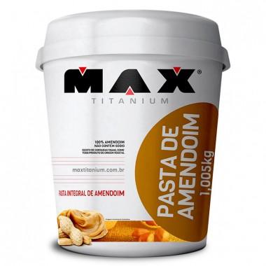 Pasta de Amendoim 1kg Max Titanium