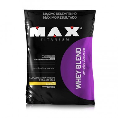 Whey Blend 2kg Max Titanium