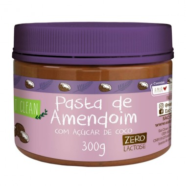 Pasta de Amendoim 300g Eat Clean