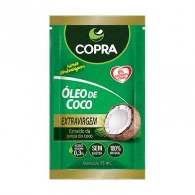 Óleo de Coco em Sachê 15ml Copra