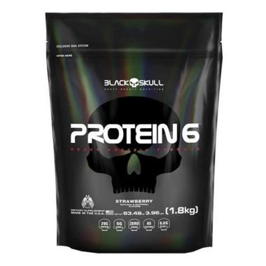 Protein 6 1800g Black Skull
