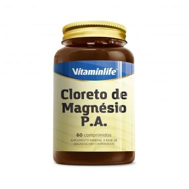 Cloreto de Magnésio PA 60 Cápsulas Vitamin Life