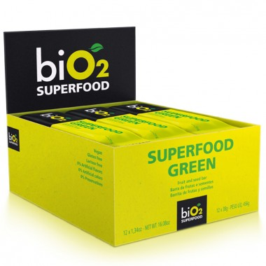 Barra Bio2 Superfood 12 barras de 38g Bio 2 Organic