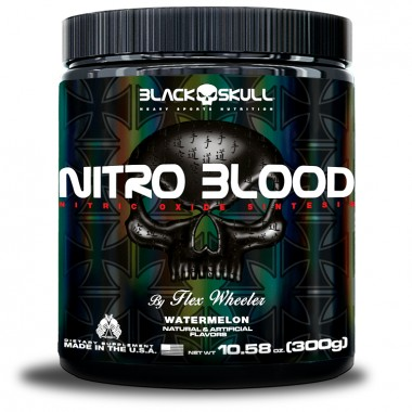 Nitro Blood 300g Black Skull