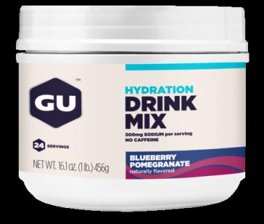 Hydration Drink 456g GU - Blueberry