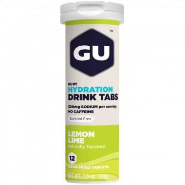 Hydration Drink Tabs 12 pastilhas efervecentes GU