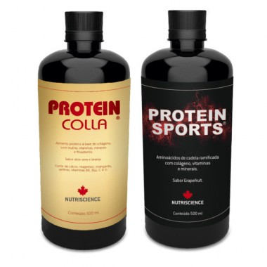 ProteinColla + Protein Sports 500ml - Nutriscience