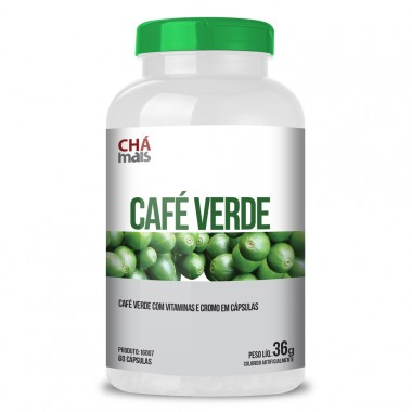 Café Verde 60 cápsulas Chá Mais