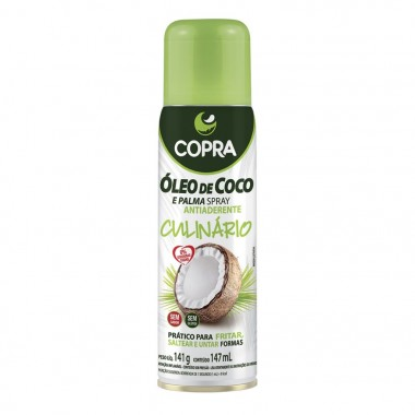 Óleo de Coco e Palma Spray 147ml Copra